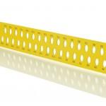 Ácsderékszög Sárga 700 mm - Kiosztással és rajzlyukkal