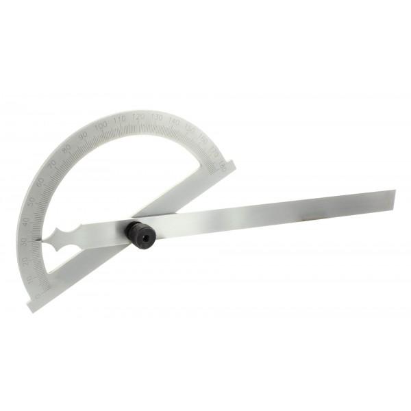 Acél szögmérő 200 mm - Fém szögmérők