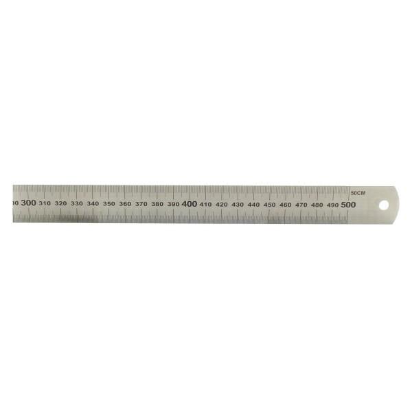 Acél vonalzó 50 cm - Mérőeszközök