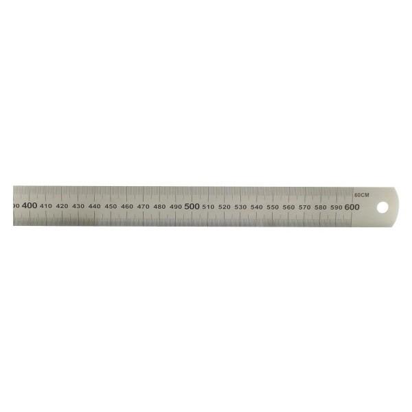 Acél vonalzó 60 cm