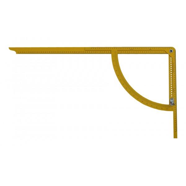 Alpha Classic ácsderékszög sárga festett