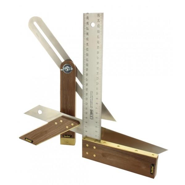 Asztalos szett - Derékszög és szögmásoló