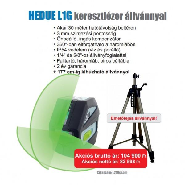 hedue L1G vonallézer Kereszt és vonallézerek