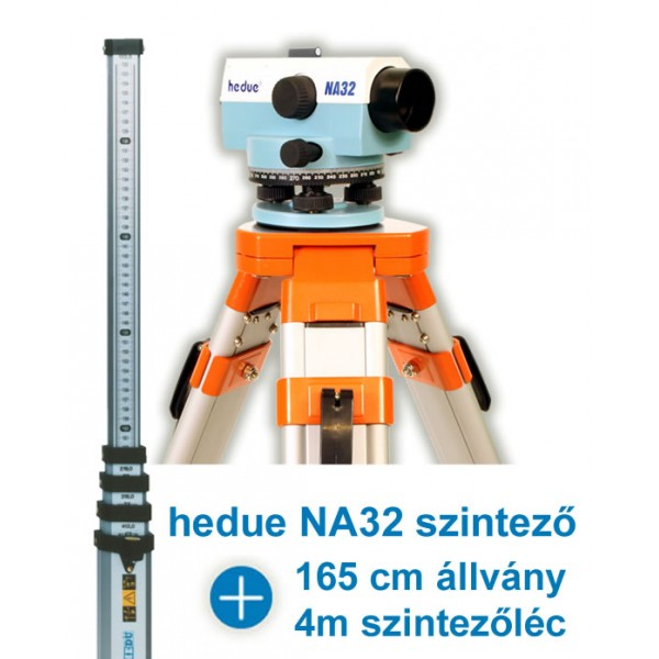 hedue NA32 optikai szintező - Csomagban