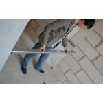 hedue teleszkópos szintezőléc 3 méteres -