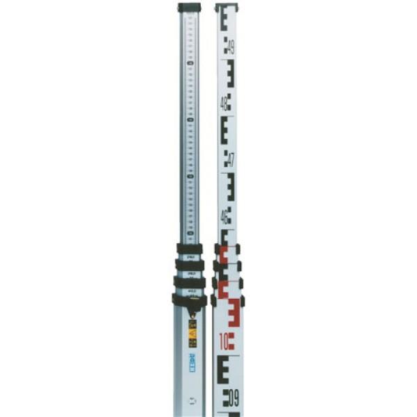 hedue teleszkópos szintezőléc 5 méteres
