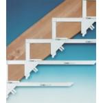Lépcső rajzderékszög 5/6 darabos - Derékszög és szögmásoló