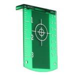 Lézeres céltábla - zöld - Kereszt és vonallézerek
