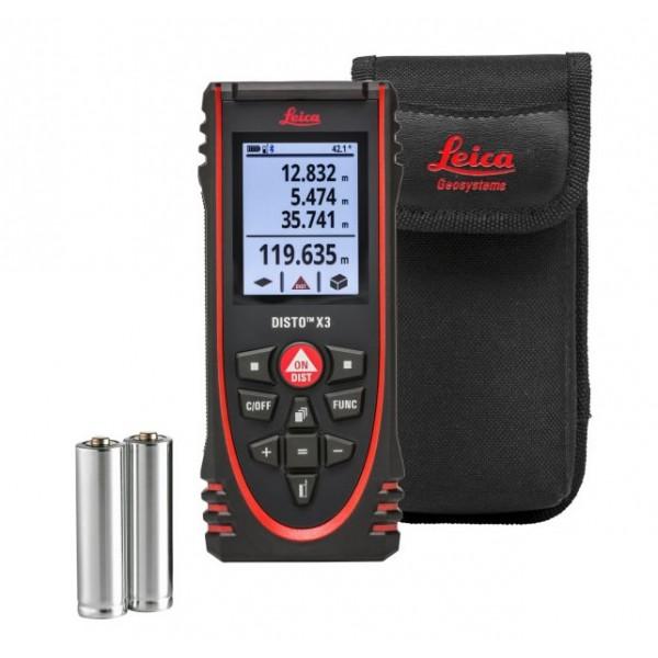Leica Disto X3 lézeres távolságmérő - Leica Disto lézeres távolságmérő