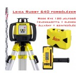 Leica Rugby 640 forgólézer csomagban - Forgólézerek és lézerszintezők