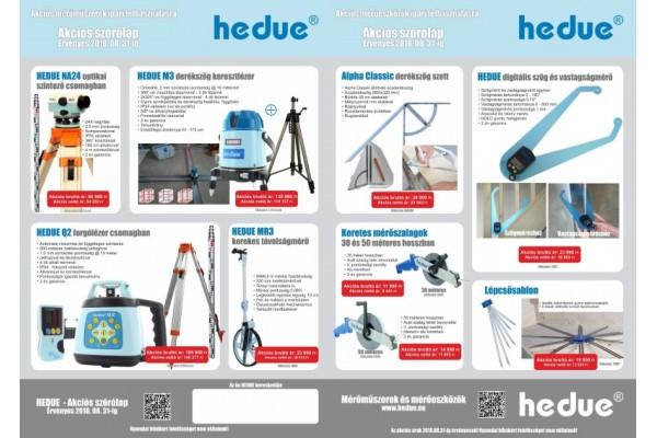 HEDUE akciós ajánlata 2018.08.31-ig