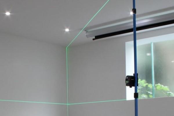 Zöld vonallézer beltéri használatra