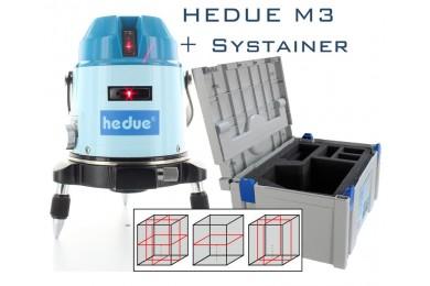 HEDUE M3 vonallézer Systainer kofferben