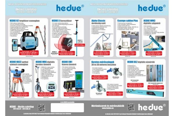 HEDUE akciós ajánlata 2017.08.31-ig