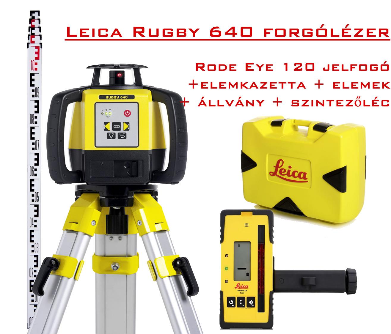 leica rugby 640 forgólézer