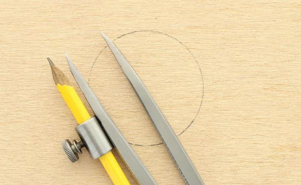 acél körző 20 cm