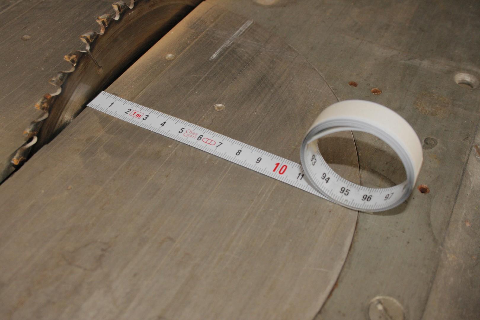 1 m öntapadós mérőszalag