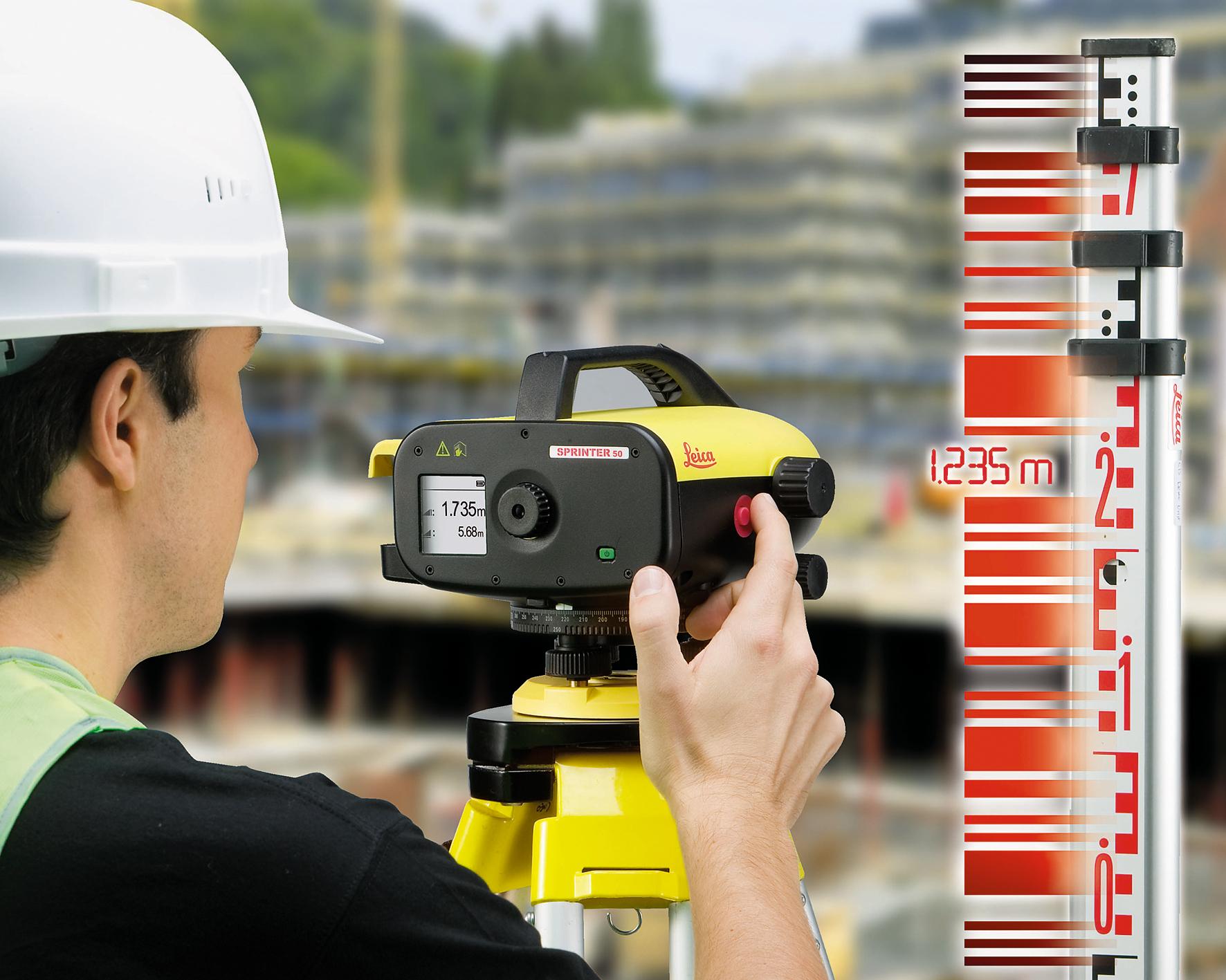 Leica Sprinter digitális szintező