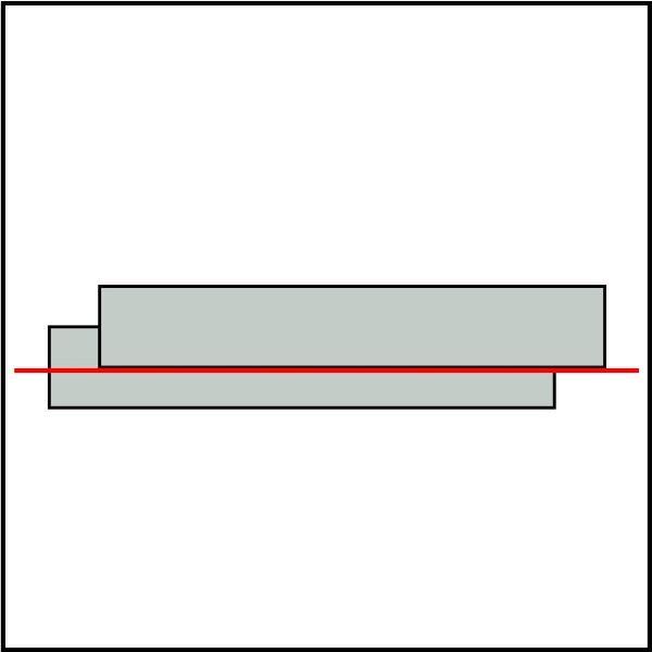 hedue PL1 vonalkivetítő lézer
