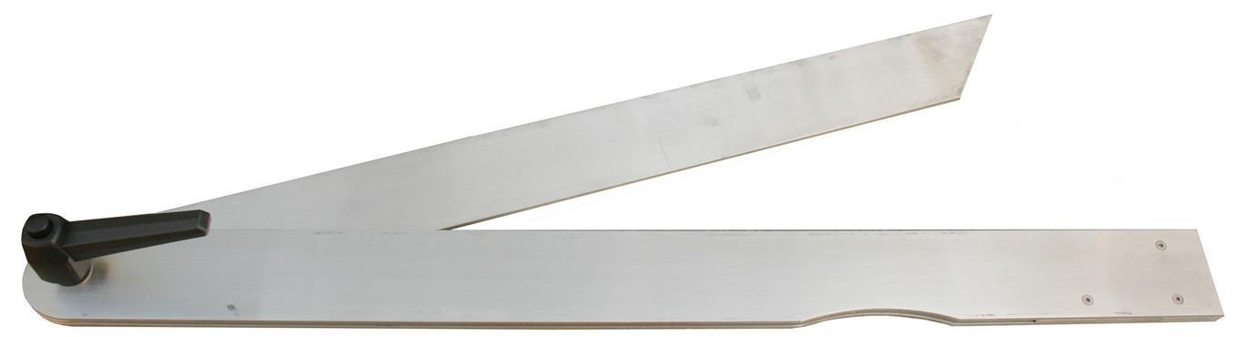 alumínium szögmérő, szögmásoló sáskaláb