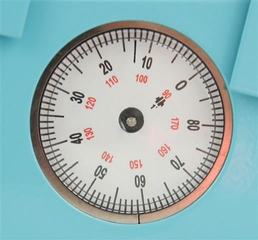 analóg szögmérő
