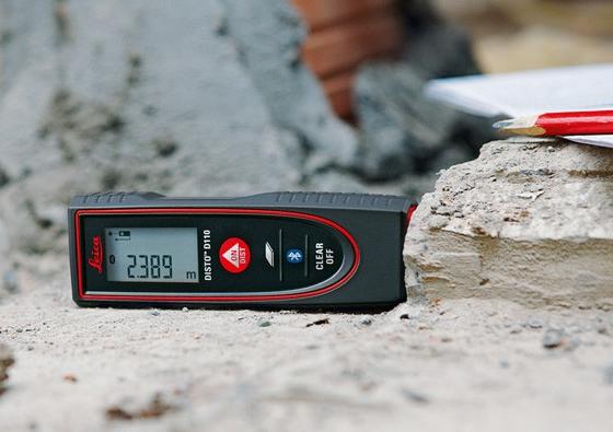 Disto D110 ideális választás egyszerű távolságok mérésére