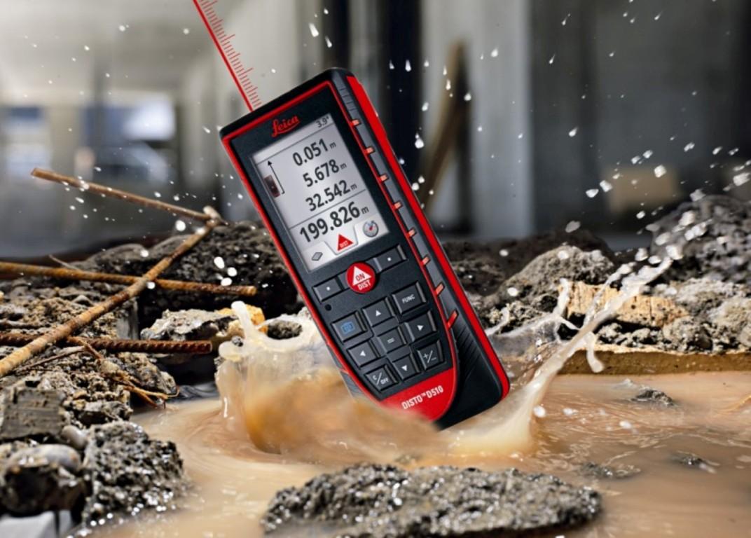 Disto D510 távolságmérő kültéri mérésekhez ideális