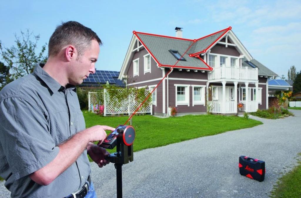 Leica Disto S910 lézeres távolságmérő és mini mérőállomás