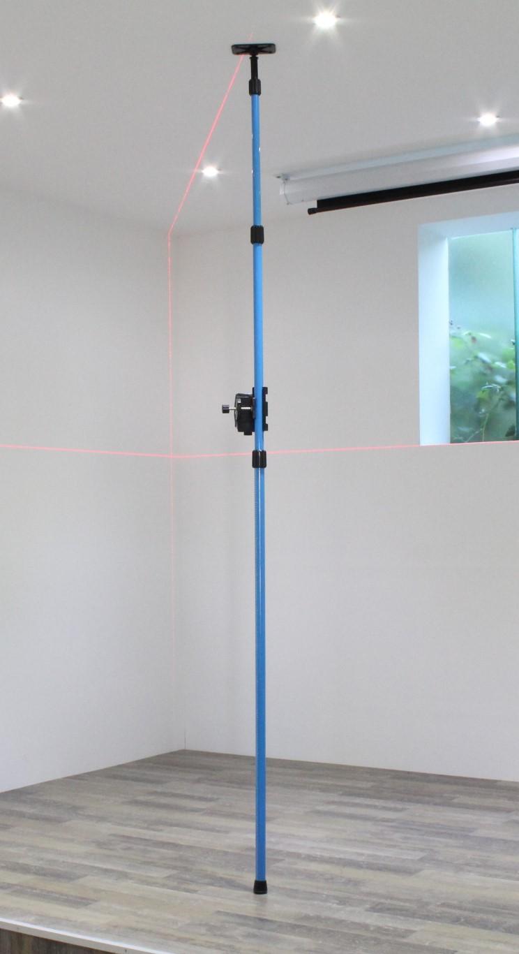 Keresztvonalas lézer szorítórúddal - hedue L1 vonallézer
