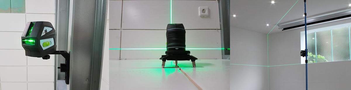 Zöld lézerszintező hedue L1G