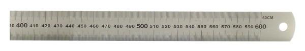 Acél vonalzó 60 cm hedue fémvonalzó több méretben